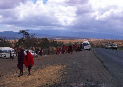 On the Road - Tanzania
