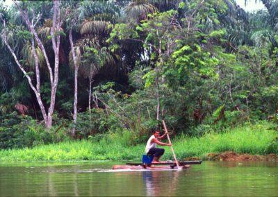 River - Tortuguero National Park - Costa Rica, Central America