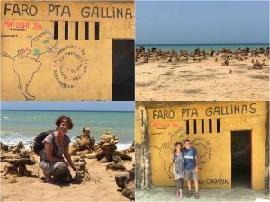 sea and lighthouse in punta gallinas guajira colombia 300x225 - Guajira Peninsula - the northernmost place in South America