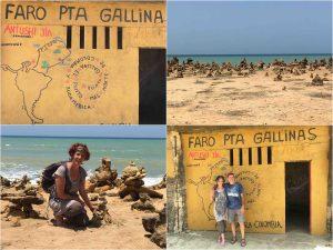 sea and lighthouse in punta gallinas guajira colombia 300x225 - Penisola della Guajira - l'estremo nord del Sudamerica