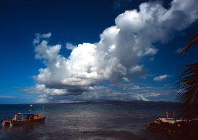 Sea with Clouds - Fiji, Samoa