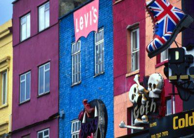 Shops - Camden Town - London, England