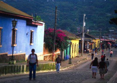 Street - Apaneca - Ruta de Las Flores - El Salvador, Central America