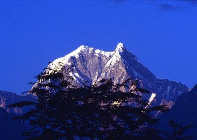 Sunset at the Big Mountain - Nepal