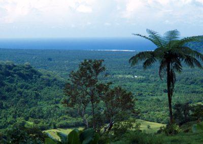 Valley view - Fiji, Samoa