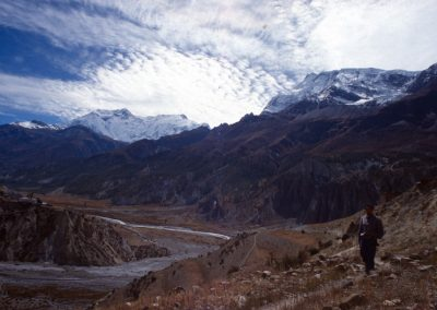 Valley with Clouds - Nepal