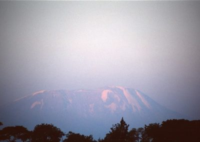 View of Mount Kilimanjaro - Arusha - Tanzania