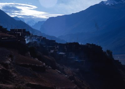 VIllage in the Dark - Nepal
