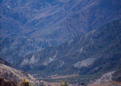 Village Valley Mountain - Nepal