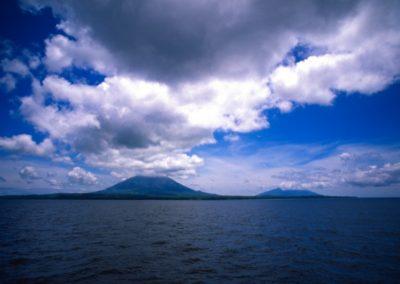Volcan Concepción and Maderas - Isla Ometepe - Lake Nicaragua - Nicaragua, Central America