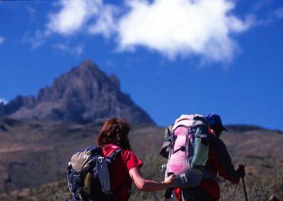 Walking Hard - Kilimanjaro Trekking - Tanzania