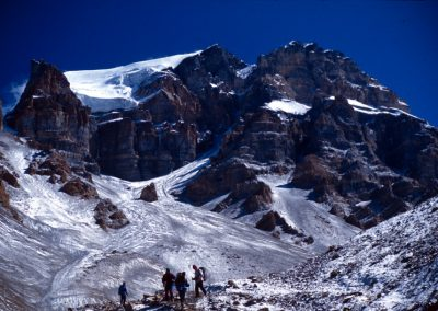 Walking through the Mountain - Nepal