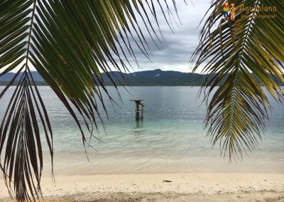 Beautiful beach - San Blas Islands, Panama