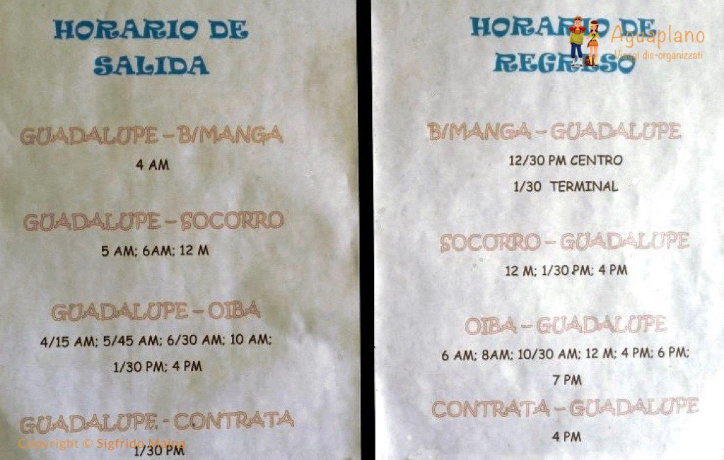 bus timing guadalupe colombia - Guadalupe, Colombia: a hidden little gem