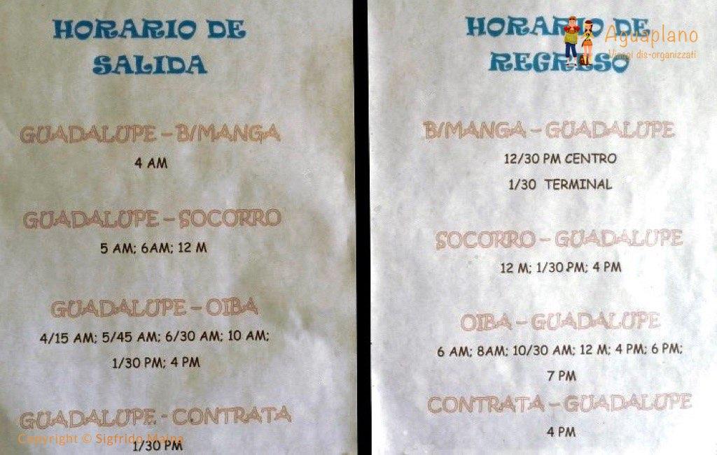 bus timing guadalupe colombia - Guadalupe, Colombia: una piccola grande scoperta