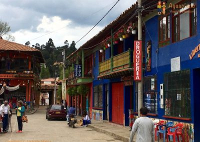Center Town - Raquira, Colombia