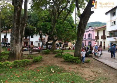 Central square - Barichara, Colombia