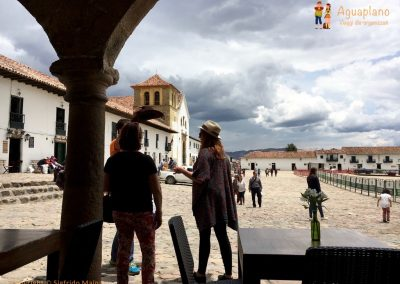 Central Square - Villa de Leyva, Colombia