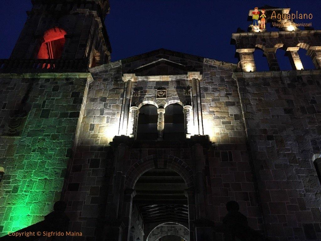 church at night guadalupe colombia - Guadalupe, Colombia: una piccola grande scoperta