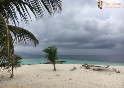 Clouds in San Blas Islands, Panama