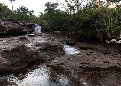 Falls and Rocks - Cano Cristales - La Macarena district, Colombia