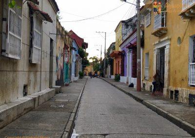 Getsemani's street - Cartagena, Colombia