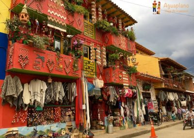 Handicraft's street - Raquira, Colombia