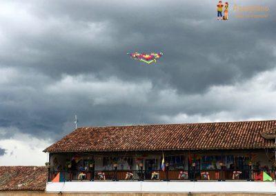 Kite - Festival de Las Cometas - Villa de Leyva, Colombia