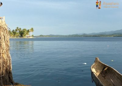 Kuna's canoe - San Blas Islands, Panama