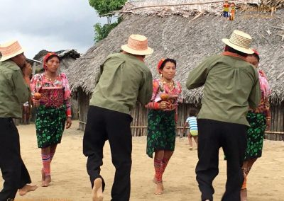 Kuna's dance 1 - San Blas Islands, Panama