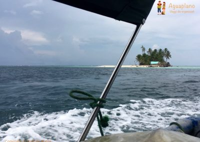 Leaving San Blas Islands, Panama