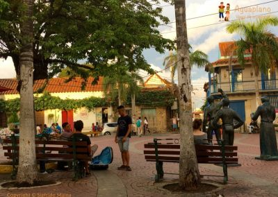 Little square - Getsemani - Cartagena, Colombia