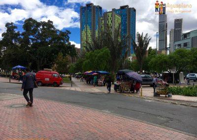 Modern Bogotà, Colombia