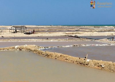 Salt pan - La Guajira, Colombia