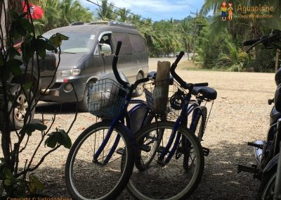 Shopping with bike - Puerto Viejo, Costa Rica