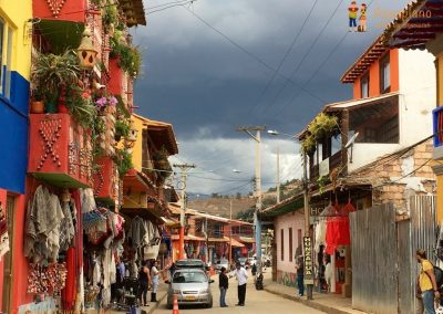 Street - Raquira, Colombia