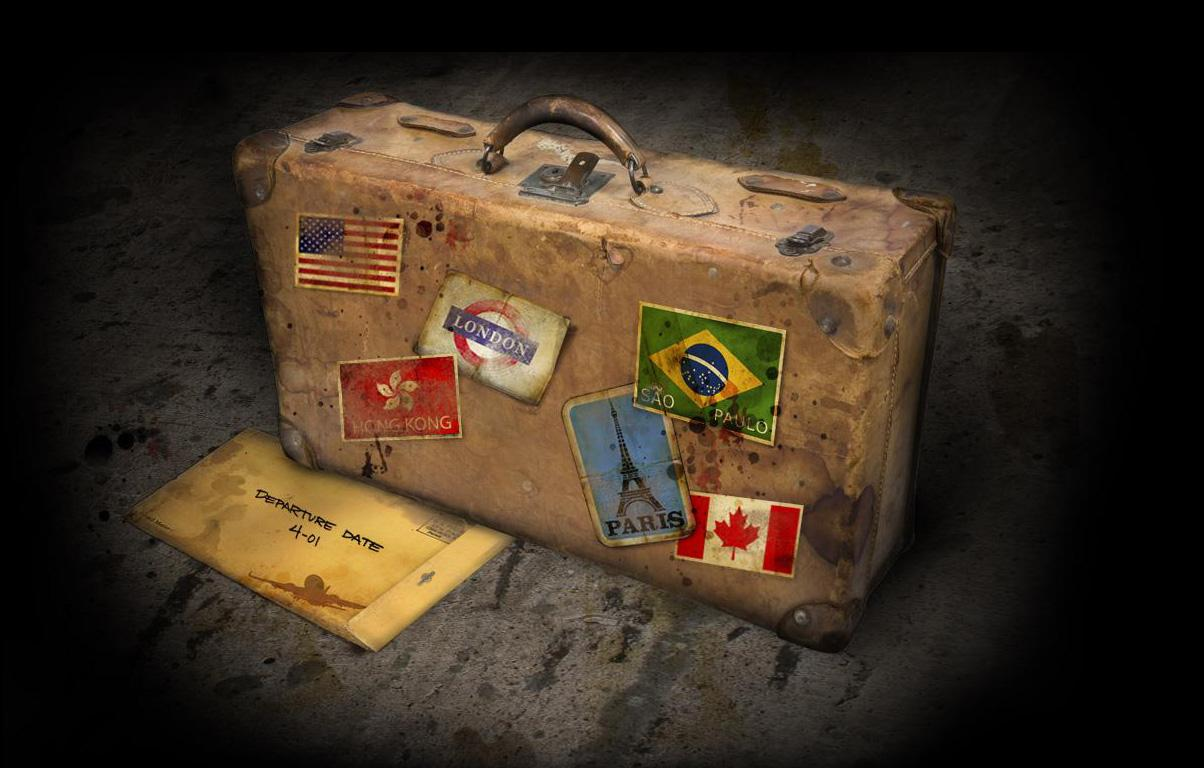 suitcase - Prima di partire