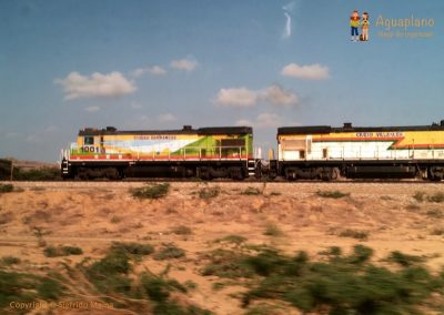 Train - La Guajira, Colombia