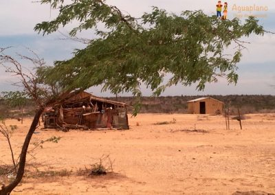 Village in La Guajira, Colombia