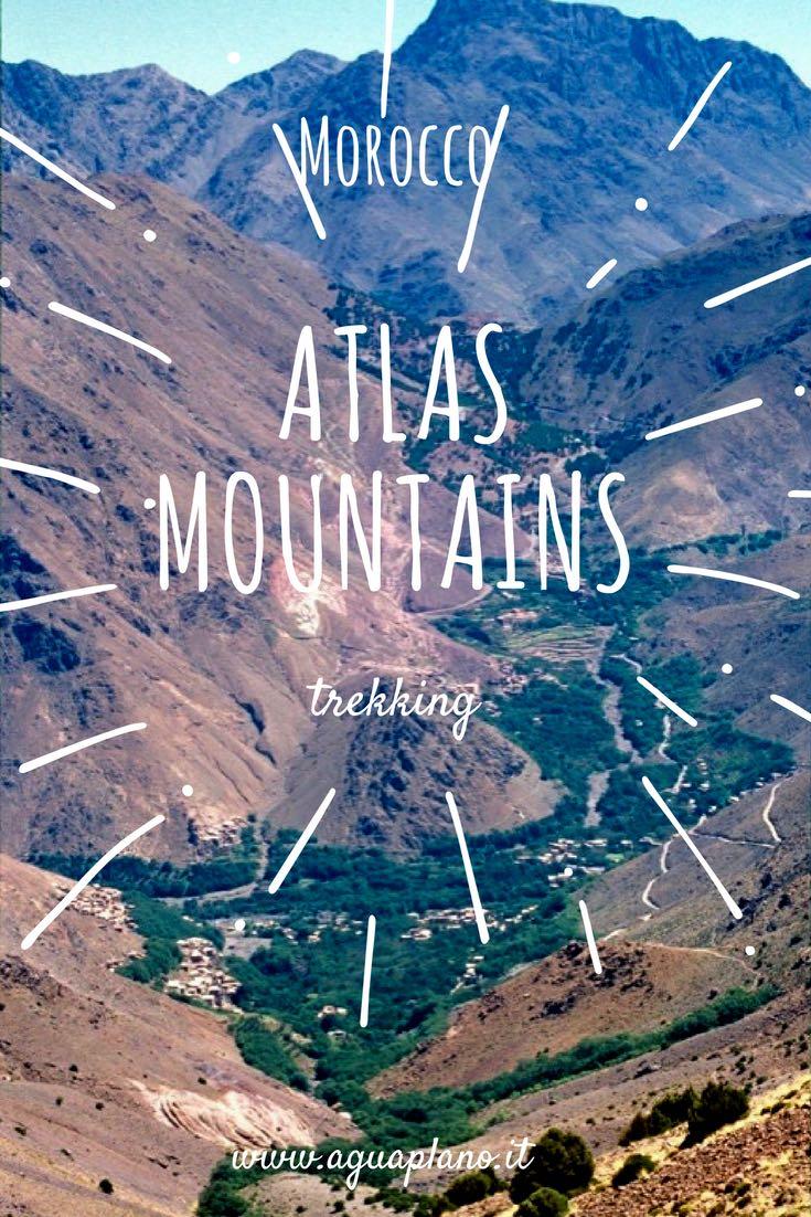 Marocco: un trekking sui Monti dell'Atlante