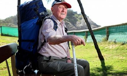 A tribute to Keith Wright – World's oldest backpacker