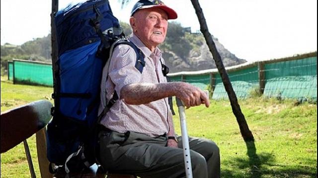 oldest backpacker