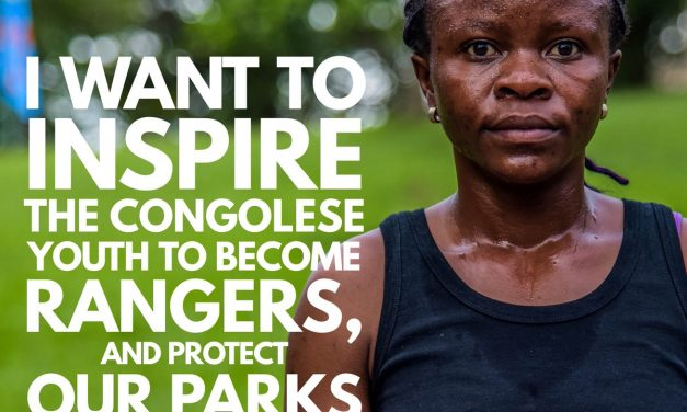 #newsflash Virunga ranger Angèle is running the @LondonMarathon