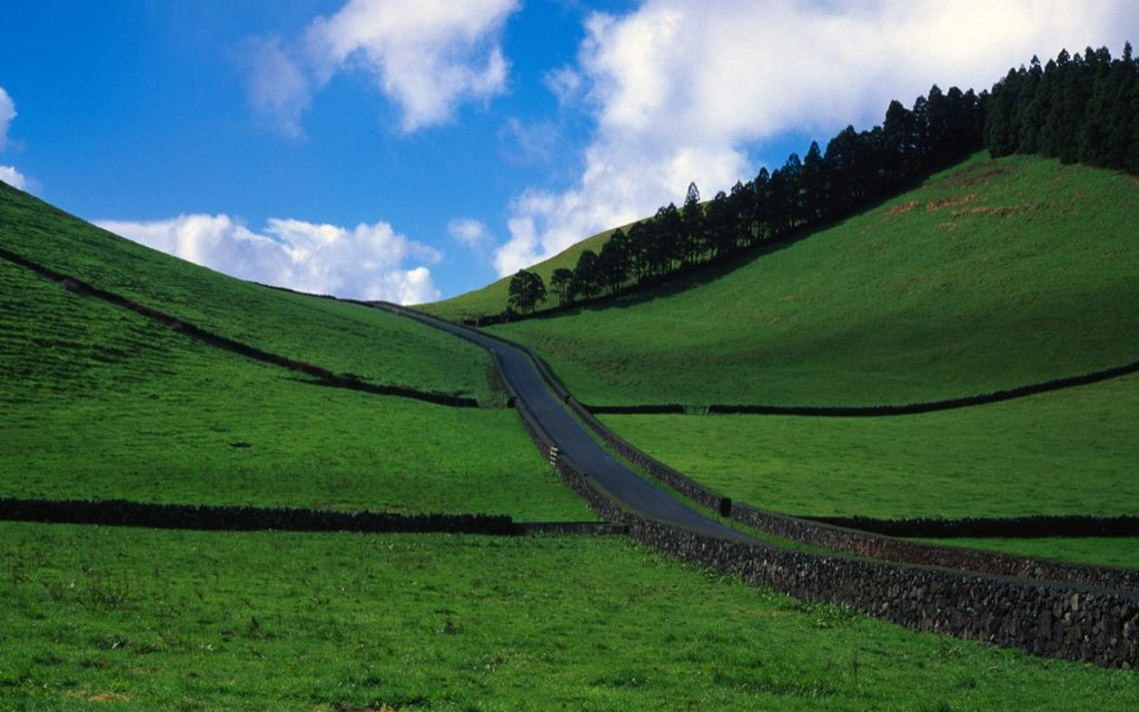 No traffic in the Azores!